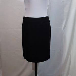 EUC Calvin Klein Black Mini Pencil Skirt Size 8